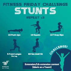 Varsity All Star Cheerleading - Fitness Fridays