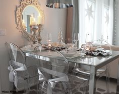 Home White Home: Juhlava kattaus ja uudet lautaset