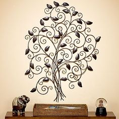 I'm into decorating with trees right now. I have the perfect spot in our bedroom for this!!