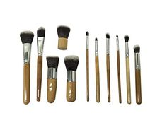 Beauty Bon Wood Handles Makeup Brush Set 11 Piece -- Read more reviews of the product by visiting the link on the image.