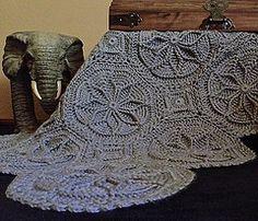 Grenoble Matelassé Afghan by Priscilla's Crochet, via Flickr