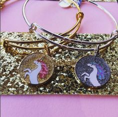 ALEX AND ANI Unicorn Charm Bangle | Unicorns have long been celebrated for their divinity and magnificent healing powers. These mystical creatures have appeared in both religious lore and children's tales for centuries as protectors of the innocent. Let their magic awaken your soul and inspire your spirit.