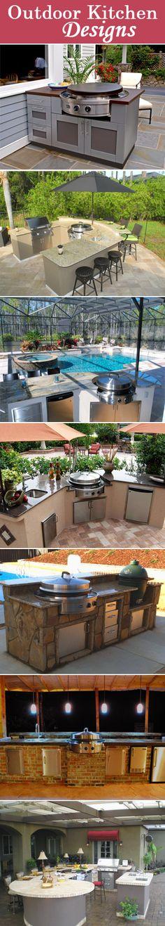 Outdoor Kitchen Designs - Evo Circular Cooktops