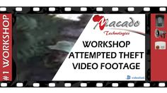 Watch thieves attempt to steal batteries from a client's workshop and find out how to deter them with a voice challe. Security Technology, How To Get Away, Video Footage, Workshop, Videos, Atelier, Work Shop Garage, Video Clip