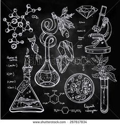 stock-vector-hand-drawn-science-beautiful-vintage-lab-icons-sketch-set-vector-illustration-back-to-school-267617834.jpg (450×469)