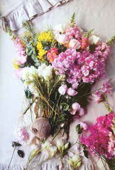 colorful bouquet...