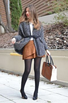 40 Ways To Wear Suede Skirts Style Ideas For Chic Look - EcstasyCoffee