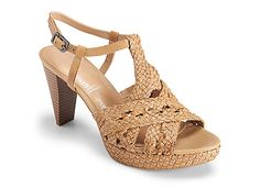 Audry Woven T-Strap: Have these! Love these!