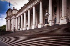Melbourne Parliament House, Melbourne, Victoria, Australia.