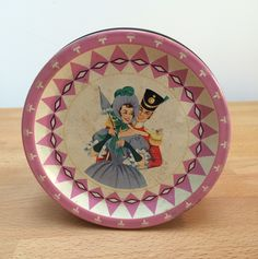 A personal favourite from my Etsy shop https://www.etsy.com/uk/listing/253574946/vintage-mackintosh-quality-street-tin