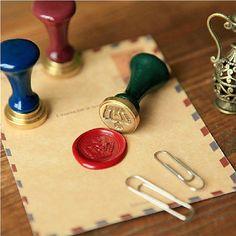 Vintage Crown Wax seals Stamp Set-British Jane от HANDWORKDIYSOTRE