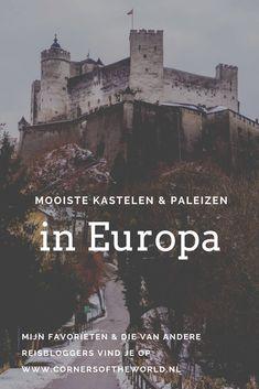 Op zoek naar mooie kastelen en paleizen in Europa? In deze blog deel ik mijn favorieten én die van een paar andere reisbloggers!  #kastelen #paleizen #kasteel #paleis #mooi #mooiste #leukste #europa #favorieten #reisinspiratie #inspiratie #neuschwanstein #schwerin #hohensalzburg #kasteeldehaar #slotfurstenstein #zamekksiaz #versailles #praagseburcht #pales #avio #bourscheid #casteldelmonte #predjama #xativa #sintra #alcazarreal #madrid #malta #boekarest Castel Del Monte, Things To Do, Places To Visit, World, Dutch, Wanderlust, Travel, Inspiration, Things To Doodle