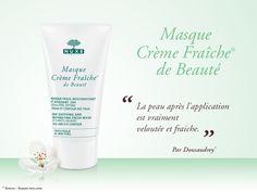 Masque Crème Fraîche® de Beauté #nuxe #cremefraichedebeaute - Parfumerie et parapharmacie - Nuxe