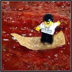 Surfing the salsa...