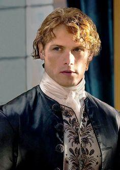 tara-58:  outlander-news:  New Still | Sam Heughan as Jamie Fraser | Outlander Season 2 | Dragonfly in Amber  This man !!!!