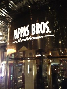 Pappas Bros. Steakhouse Irving, TX