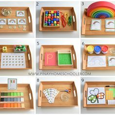 Montessori Inspired Trays for St. Patrick's Day St Patrick's Day Montessori Inspired activities Montessori Playroom, Montessori Preschool, Montessori Education, Preschool Activities, Montessori Elementary, Art Education, Dinosaur Activities, History Education, Teaching History