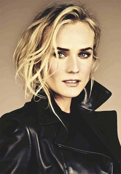 Diane Kruger has wonderful eye brows! Diane Kruger Troy, Most Beautiful Women, Beautiful People, Blond, Glamour Photography, Portraits, Celebs, Celebrities, Famous Faces