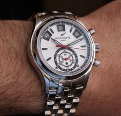 Patek Philippe Annual Calendar Chronograph 5960 Steel Watch For 2014 Hands-On
