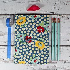 Notizbuch-blau-mit-Blüten