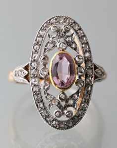 Radiant Engagement Rings, Yellow Engagement Rings, Vintage Engagement Rings, Art Deco Diamond Rings, Unique Diamond Rings, Art Deco Ring, Bling Bling, Cowgirl Bling, Antique Rings