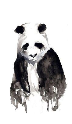 lionskeleton: by Kegofham this panda looks so sad :(