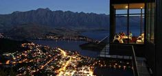 Skyline Restaurant , Queenstown, New Zealand   32 Restaurants With Spectacular Views