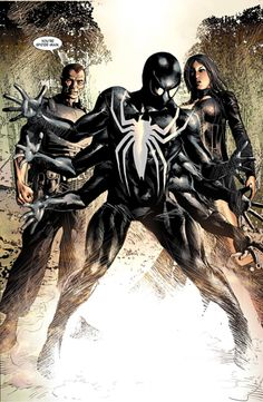Norman Osborn, Superia, and Ai Apaec (as the six-armed Spider-Man) from New Avengers by Mike Deodato Hulk Marvel, Marvel Comics, Punisher Marvel, Ms Marvel, Captain Marvel, Comic Books Art, Comic Art, Mundo Comic, Spider Man
