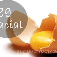 Egg Facial – Shrink Pores