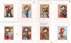 marvel 70th anniversary cards9  by ~katiecookie