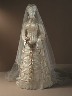 Wedding Dress1878The Los Angeles County Museum of Art