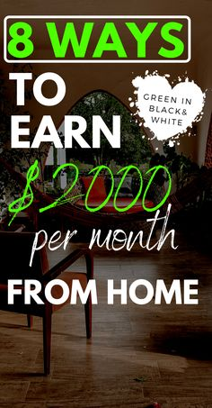 Looking to make money from home this month. If so this post covers 8 ways you can make money online from home. It covers 8 profitable jobs and side hustles. Make Cash Online, Legit Online Jobs, Legit Work From Home, Work From Home Jobs, Earn Money From Home, Way To Make Money, Easy Business Ideas, Work From Home Companies, Online Business Opportunities