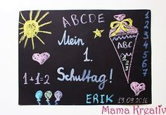 Make a placemat for school enrollment - Schulanfang - Einschulung Seating Plan Wedding, Wedding Table, Fancy Casual Outfits, Becoming An Event Planner, Event Planning Guide, School Enrollment, 50th Anniversary Cakes, Cream For Dry Skin, Best Wedding Favors