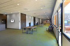 El Hall del Business center, con salida directa a los jardines perfecto para los cofe breaks y descansos de las reuniones