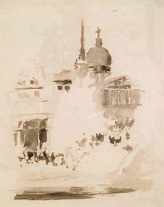 James Abbott McNeill Whistler, St. Paul's (1884-87)