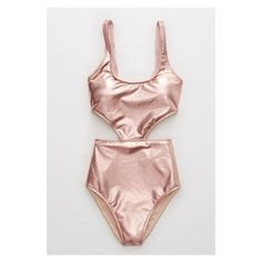 15 Cute One-Piece Bathing Suits That Are Hotter Than Any Bikini ❤ liked on Polyvore featuring swimwear, open-back one-piece swimsuits, mesh one piece bathing suit, bikini swim wear, plunge neck one piece swimsuit and 1 piece bathing suits