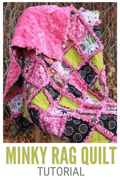 Rag Quilt Patterns, Quilting Ideas, Sewing Patterns, Quilting Projects, Baby Rag Quilts, Quilt Tutorials, Sewing Tutorials, Sewing Ideas, Minky Fabric