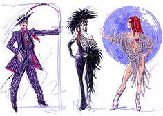 Image result for Bob mackie design sketches