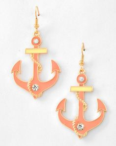 Chain Around the Anchor Earrings - Krimson and Klover a Women's Clothing Boutique