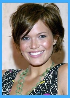 Image result for mandy moore short hair