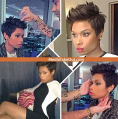 We Liked Jennifer Hudson's SHORT HAIR STYLED IT U . . .