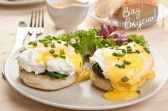 Завтрак Яйца Флорентин