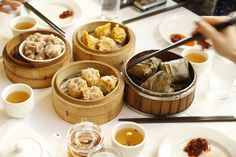 From traditional steam table trolleys stacked sky-high with dumplings to easy and convenient take out, we've narrowed down the top 5 tastiest dim sum establishments in San Francisco.