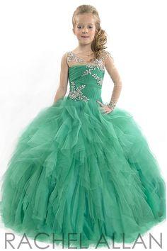 Rachel Allan Perfect Angel 1559 | Girls Pageant Gown | Pageant Dress