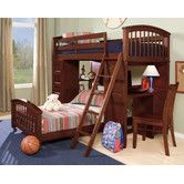Found it at Wayfair - School House Twin Student L-Shaped Bed with Additional Lower Bed