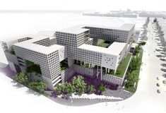 commercial residential complex Mashhad Second prize 3