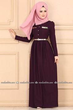 Muslim Fashion, Hijab Fashion, Fashion Outfits, Hijab Chic, The Dress, Dress Skirt, Payet, Culture Clothing, Hijab Dress