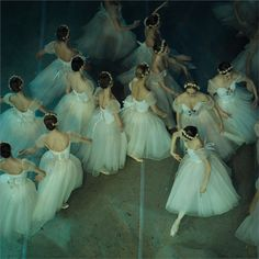 Corps in La Giselle by Mark Olich