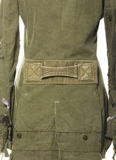Greg Lauren has recently launched a line of wearable clothes made from vintage US Army tents and duffel bags in linen and canvas.    I have a jacket that looks like this!