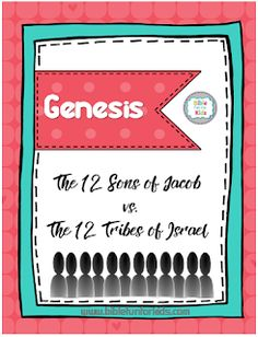 This is an easy way to teach the 12 sons of Jacob and how they became the 12 tribes of Israel. Students always understand the changes aft. Preschool Bible Lessons, Bible Lessons For Kids, Bible For Kids, Kids Sunday School Lessons, Sunday School Activities, School Ideas, School Resources, Family Tree For Kids, Sons Of Jacob